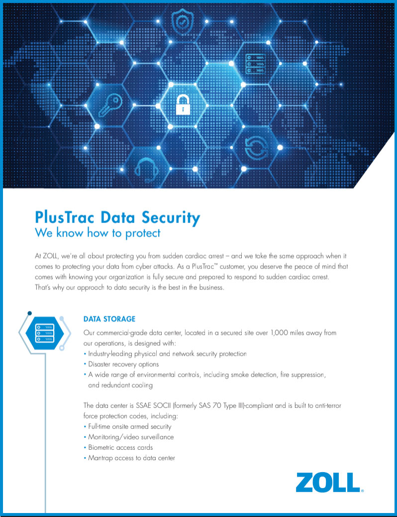 PlusTrac Data Security